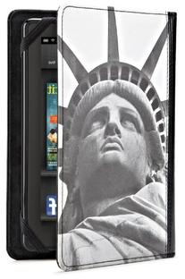 New York Times Case Cover for Kindle Fire, Liberty Face