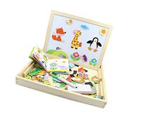 YouΞ Wooden Magnetic Forest Paradise Puzzle Drawing Easel