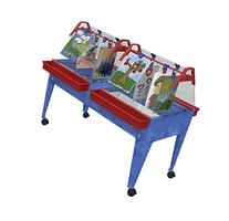 """Childbrite 24"""" Youth Activity Double-Mite with Caddies Easel"""