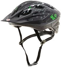 Bell Youth Aero Bike Helmet, Black Green Diamondback