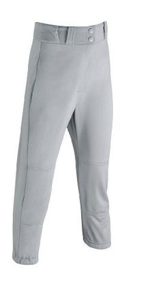 Wilson Youth Baseball Zipper Pants with Elastic Waistband