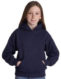 Hanes Youth 7.8 oz. ComfortBlend 50/50 Pullover Hood>XS