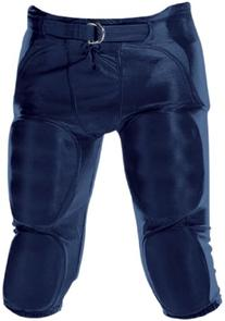 Youth Dazzle Football Pants w/ Pads Navy/MED
