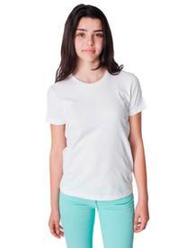 American Apparel Boys Fine Jersey Short-Sleeve T-Shirt  -