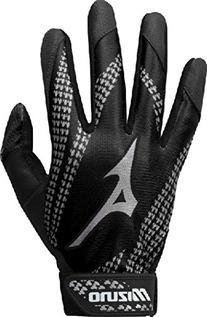 Mizuno Youth Franchise Batting Glove, Black, X-Small