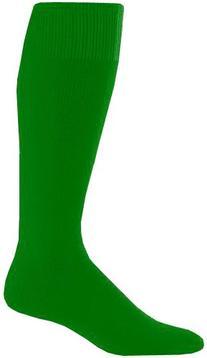 Augusta Sportswear Youth Game Socks Kelly 7-9