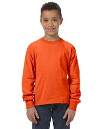 Fruit of the Loom Youth Heavy Cotton Long-Sleeve T-Shirt, XL