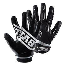 Battle Youth Hybrid Gloves, Black, Small