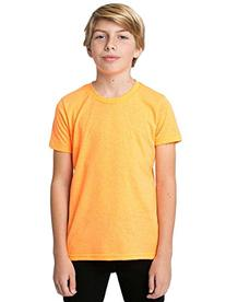 American Apparel Youth Poly-Cotton Short-Sleeve Crewneck  -