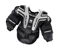 Bauer Youth Prodigy 2.0 Chest Protector, Black/Silver, Large