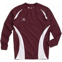 Easton Youth Qualifier Compression Shirt, Maroon, X-Large