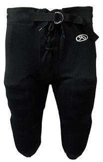 Rawlings Youth Practice Football Pant , Black, M