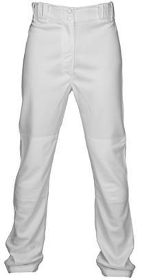 Marucci Adult Elite Double Knit Baseball Pant, White, Small