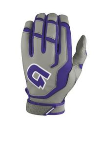 DeMarini Youth Superlight Batting Glove, White, Medium