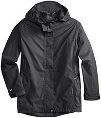 White Sierra Youth Trabagon Jacket, Black, Medium