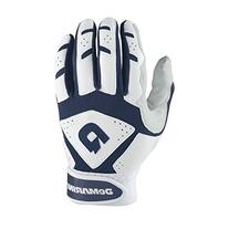 DeMarini Youth Uprising Batting Gloves, Navy, Medium