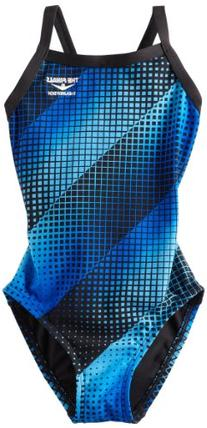 The Finals Girl's Youth Void Butterfly Back, Blue, Size 22