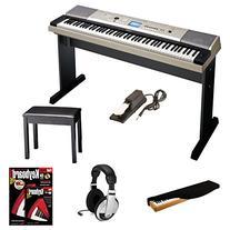 Yamaha YPG-535 88-Key Digital Piano w/ Knox Padded Bench &