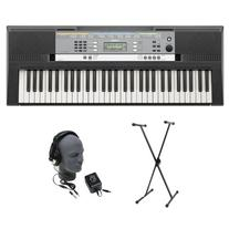 Yamaha YPT-240 61-Key Keyboard Pack with Headphones, Power