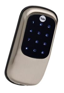 Yale YRD240-ZW-US15 Satin Nickel Z-Wave Key Free Touchscreen