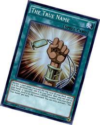 Yugioh The True Name MIL1-EN016 Super Rare 1st Edition