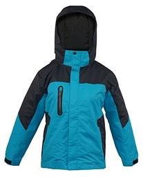 New Pulse Girl's Yukon Winter Ski Snowboard Jacket Teal &