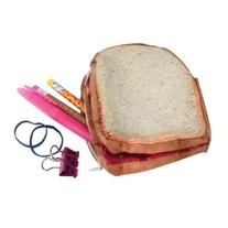 DCI Yummy Pocket Zip Coin Purse, Peanut Butter and Jelly
