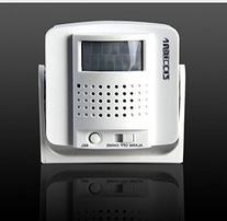 Yunzhicheng Wirelesss PIR Infrared Motion Sensor Alarm