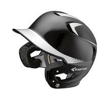 Easton Junior Z5 2Tone Batters Helmet, Black/Silver