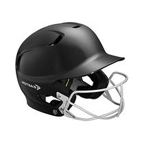 Easton Junior Z5 Batters Helmet with SB Mask, Black