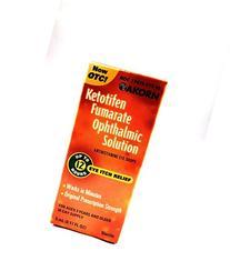 **Zaditor Generic** Ketotifen Antihistamine Eye Drops 0.025