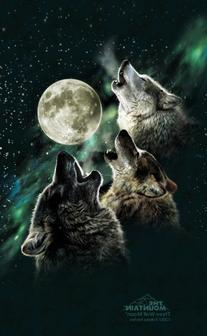 ZAGGskin Three Wolf Moon Apple iPod 2nd, 3rd Gen