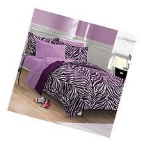 My Room Zebra Purple Ultra Soft Microfiber Comforter Sheet