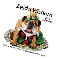 Zelda Wisdom 2016 Wall Calendar