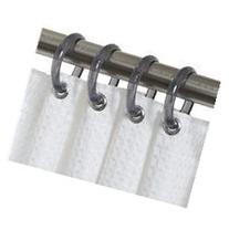 Zenith Ssr001nt Nickel Tint Shower Curtain Rings 12 Count