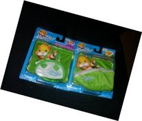 Zhu Zhu Pets Green Pet Carrier, Bed and Two Blankets