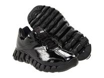 Reebok Zig Energy Ref Mens Basketball Shoe 9 Black/Black