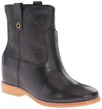 Cole Haan Women's Zillie Boot, Black Leather, 6 B US