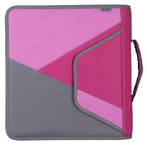 """Mead 2"""" Zipper Binder with Handle, Includes Interior and"""