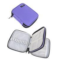 Damero Crochet Hook Case, Organizer Zipper Bag with Web
