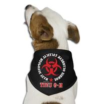 Team Nation Zombie Tactical Response K-9 Unit Dog Bandana