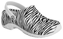 Anywears Zone Clogs - Zebra 9 M, Zebra