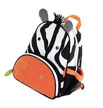 Skip Hop Zoo Little Kid and Toddler Backpack, Zax Zebra