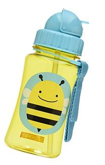 Skip Hop Straw Cup, Toddler Transition Sippy Cup, Bee