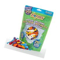 ZORBZ Battle Pack Self-Sealing Water Balloons - 250 Count