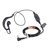 Zeadio ZP-AR098 G Shape Earpiece Headset PTT for 1 PIN HYT