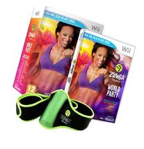 Zumba World Party - Bundle Pack with Belt Accessory