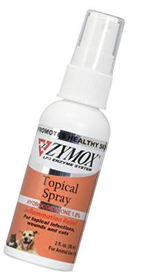 Pet King Brands Zymox Pet Spray with Hydrocortisone, 2-Ounce